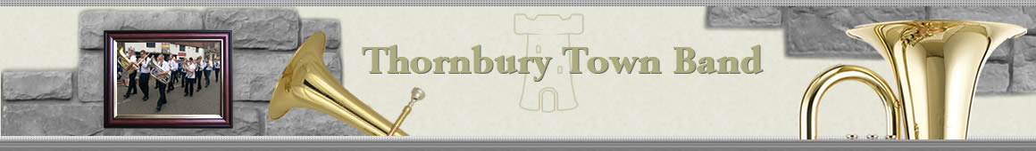 Thornbury band banner